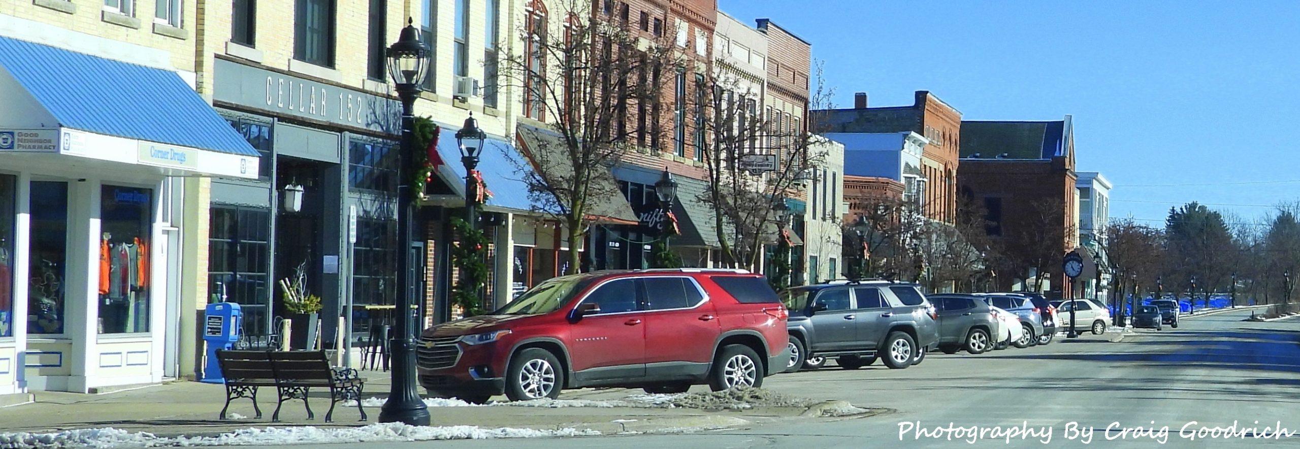 Photo of downtown Elk Rapids